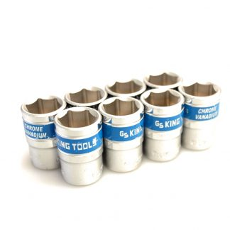 "8x 13mm 1/2"" Socket Chrome Vanadium German Standard"