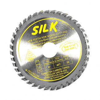 "4"" 100mm 40T-Circular Saw Blade Cross Cutting Timber Aluminium Round"