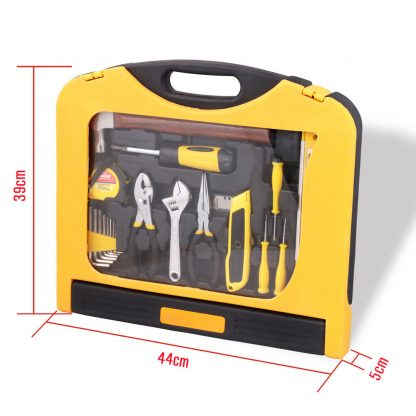 29 Piece Tool Set Screwdriver Pliers Utility Knife Blade Hammer Shifter