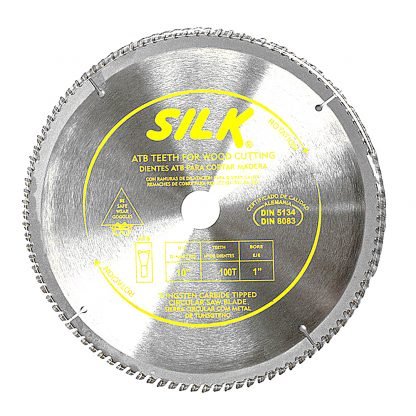"10"" 250mm 100T Circular Saw Blade Round Cross Cutting Timber Aluminium"