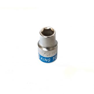 "11mm Short 1/2"" Drive Socket Metric Hex Chrome Vanadium German Standard"