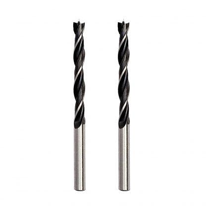 2PC 3mm x 60mm Timber Drill Bits Auger Twist Carbon Steel Drilling Bit