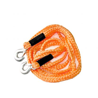 Heavy Duty Pull Strap Hooks Towing Rope 2 Ton 3.5m Tow Cable Car