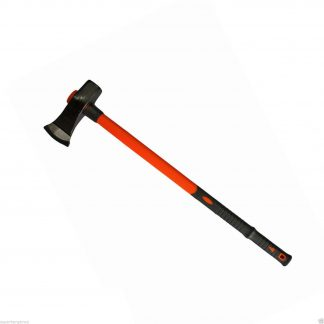 8LB Fiberglass Handle Blocksplitter Wood Pile Axe Timber Block Splitter