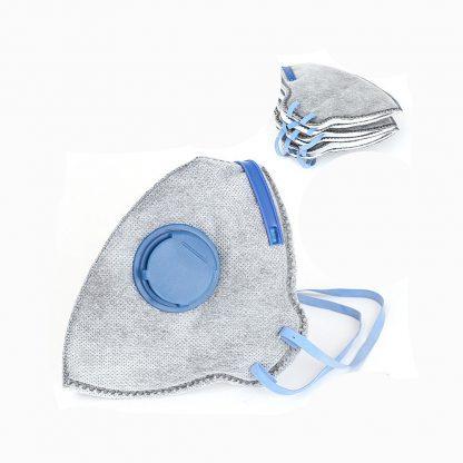 3 Pack Folding Mask with Valve Painting Mask Plaster Mask Sanding Mask Dust Mask
