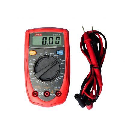 LCD Digital Multimeter Auto Power Off Backlight AC DC Voltmeter Ohmmeter Tester