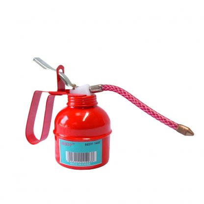 300ml Oil Can Pot Gun High Pressure Fed Grease Lubrication 300cc