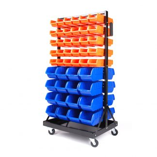 92 Storage Bin Rack Shelves Workshop Garage Warehouse Parts Nuts Bolts Organiser