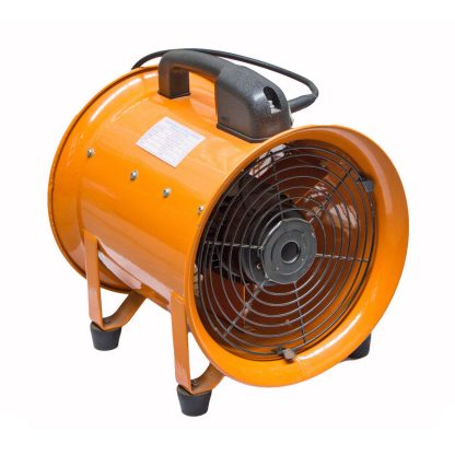 250mm Industrial Extraction Fan + 5m Hose Ventilator Blower Spray Paint Workshop