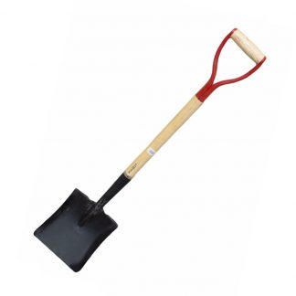 "Metal Square Head Shovel 42"" Gardening Building Mixing Moving Farming"