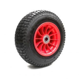 "Pneumatic Wheelbarrow Wheel 16""-6.5-8 Cart Wagon Trolley Barrow Spare 25mm Bore"