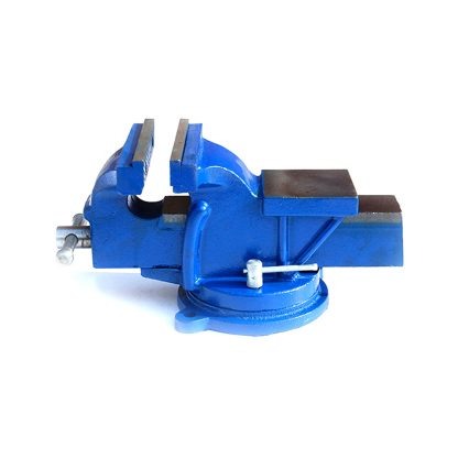 "3""x4"" Super HD Bench Vise Swivel Clamp Table Base Grip Capacity"