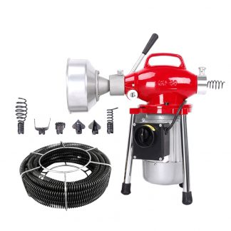 Drain Cleaner Electric Cleaning Machine Sewer Plumbing Pipe Sewage