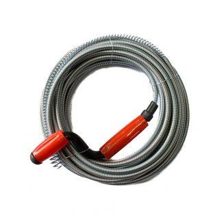 10M Drain Pipe Cleaner Metal Manual Plumbing Sewer Handle Pipeline