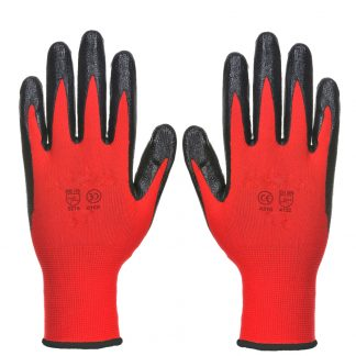 12 Pairs Soft Material Coated Garden Industry Working Glove