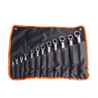 12 Piece 6-32mm Double Ring End 12PT Offset Spanner Wrench Set