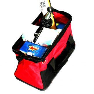 "27L 16"" HD Foldable Tool Travel Bag Steel Frame Hard Base ExtraSpace"