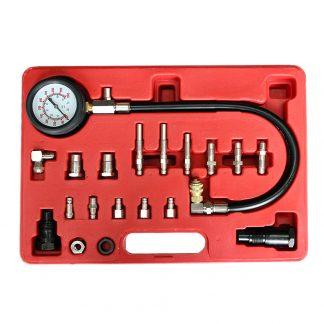 19pc Cylinder Pressure Test Tester Pressure Meter Diesel Truck Gauge