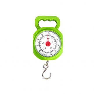 0 - 11kg / 25lb Scale Portable Hand Weight Spring Balance Kitchen