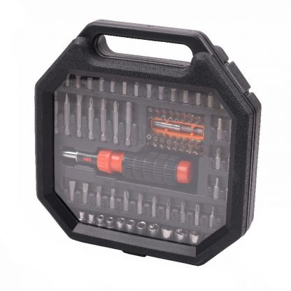 83-Piece Magnetic Ratchet Driver Screwdriver Socket Bit Nut Set